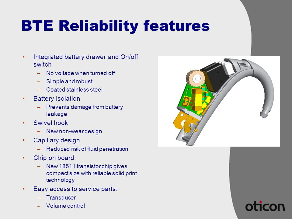 BTE Reliability features