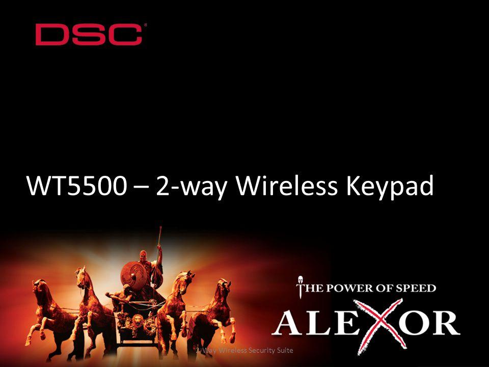 WT5500 – 2-way Wireless Keypad