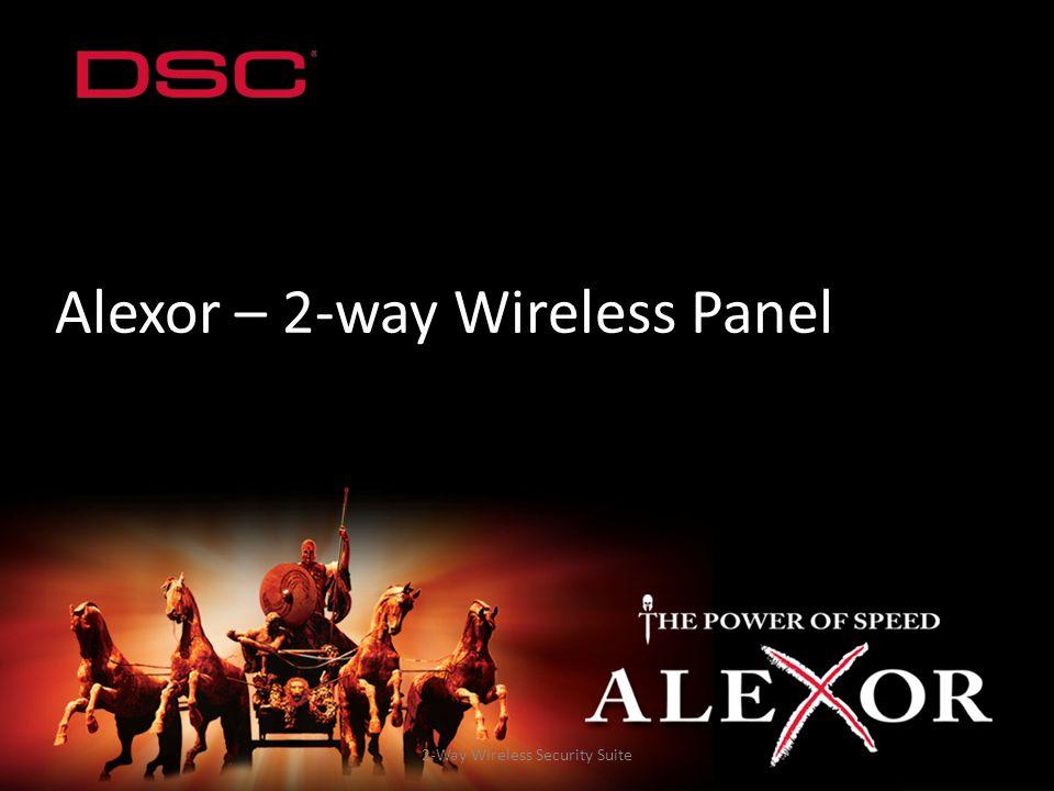 Alexor – 2-way Wireless Panel