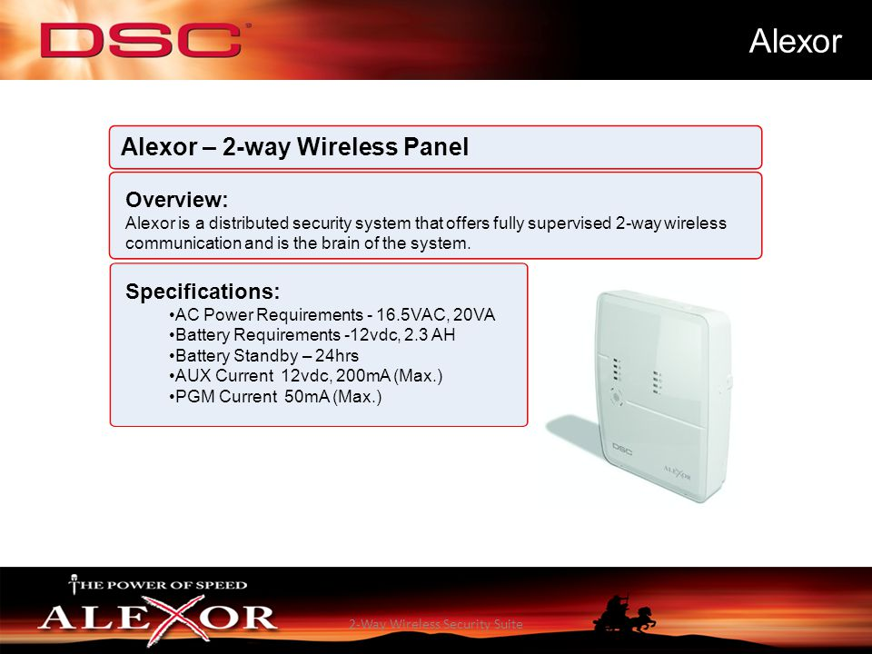 2-Way Wireless Security Suite
