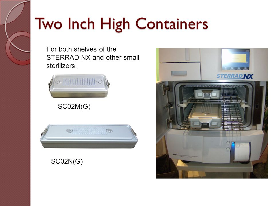 Two Inch High Containers
