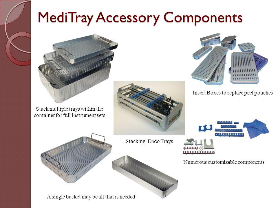 MediTray Accessory Components
