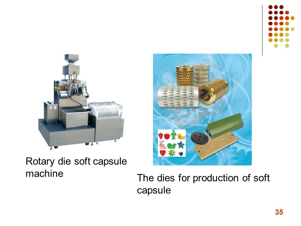 Rotary die soft capsule machine