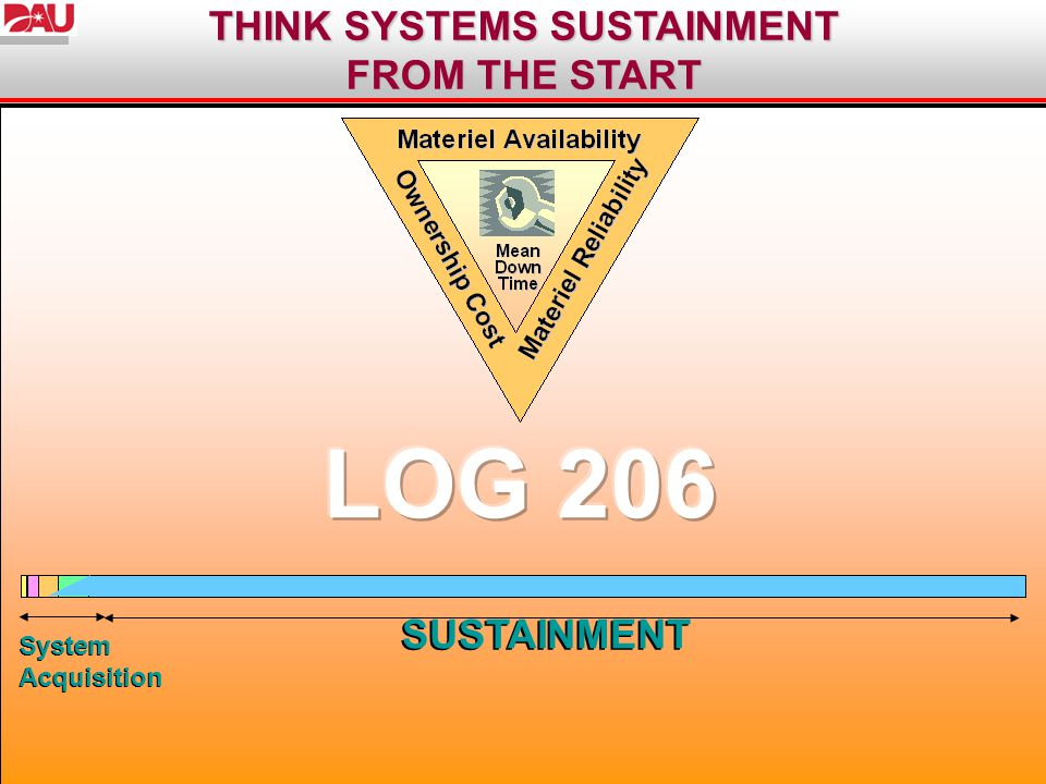 THINK SYSTEMS SUSTAINMENT