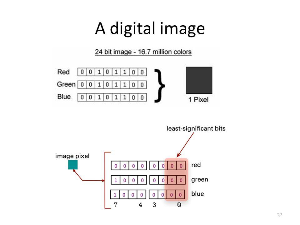 A digital image