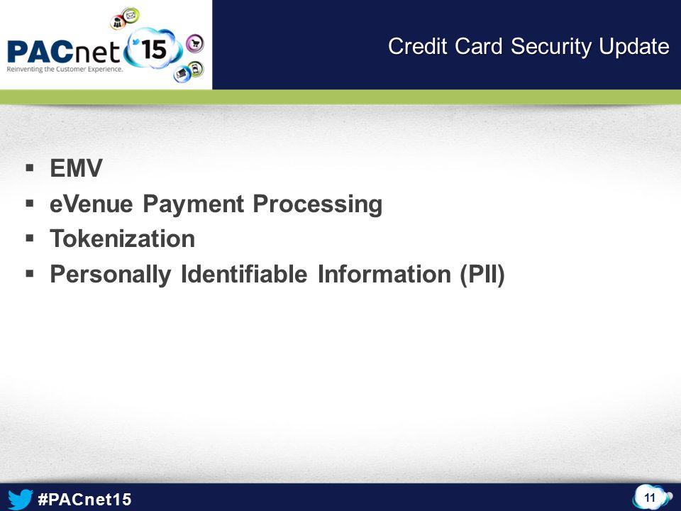 Credit Card Security Update