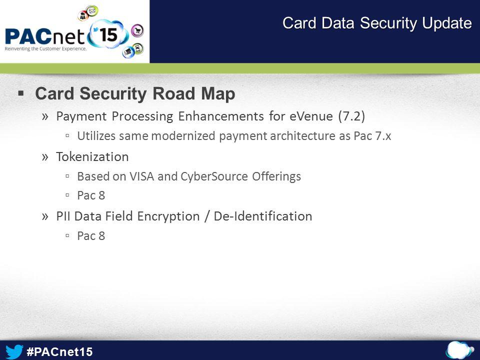 Card Data Security Update