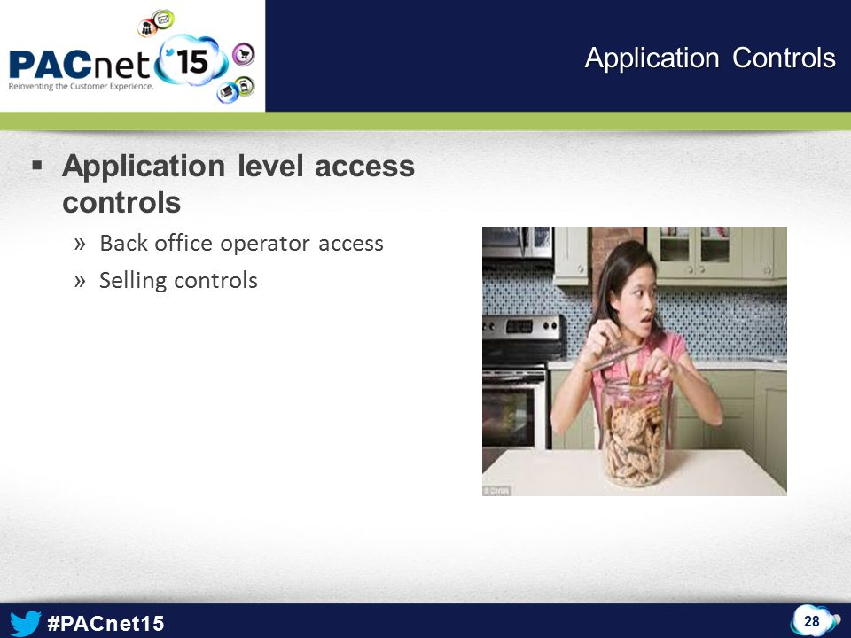 Application level access controls