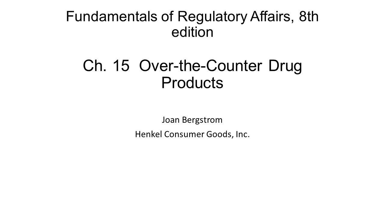 Joan Bergstrom Henkel Consumer Goods, Inc.
