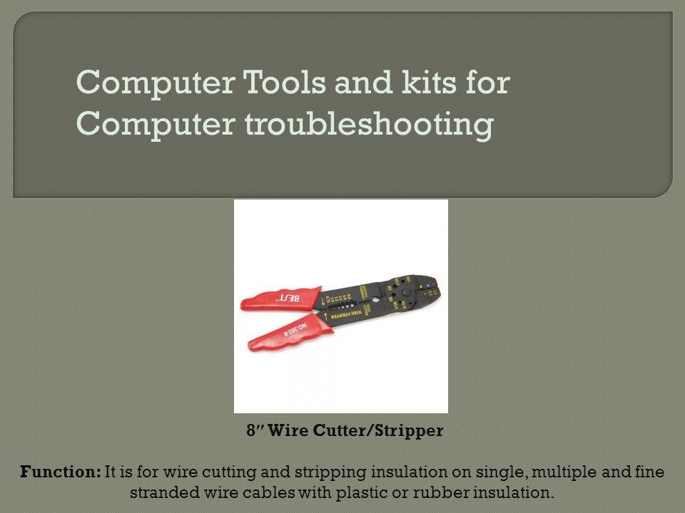 8″ Wire Cutter/Stripper