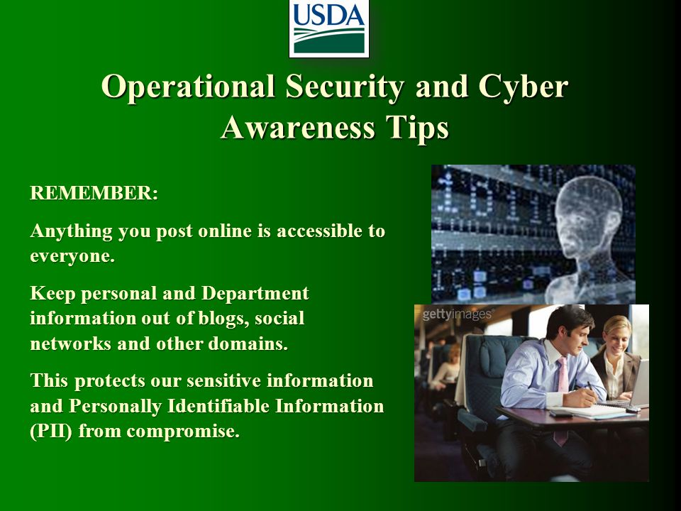 Operational Security and Cyber Awareness Tips