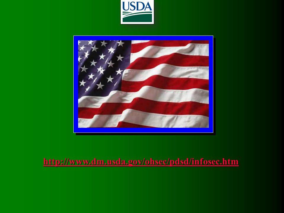 http://www.dm.usda.gov/ohsec/pdsd/infosec.htm