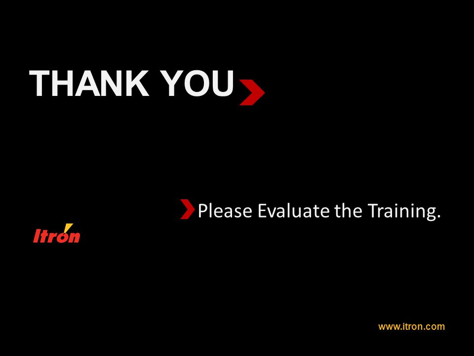 Please Evaluate the Training.