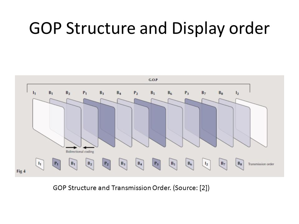 GOP Structure and Display order