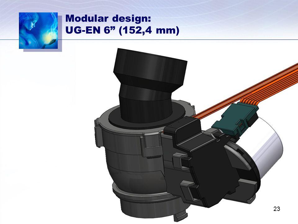 Modular design: UG-EN 6 (152,4 mm)