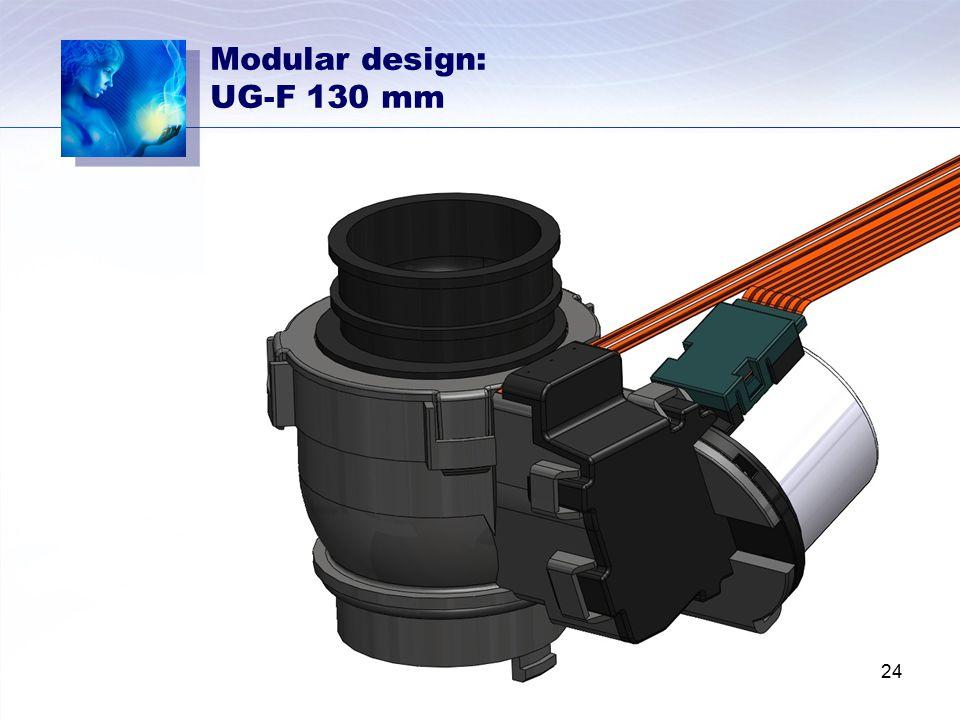 Modular design: UG-F 130 mm