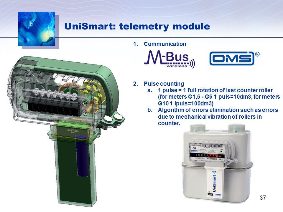 UniSmart: telemetry module