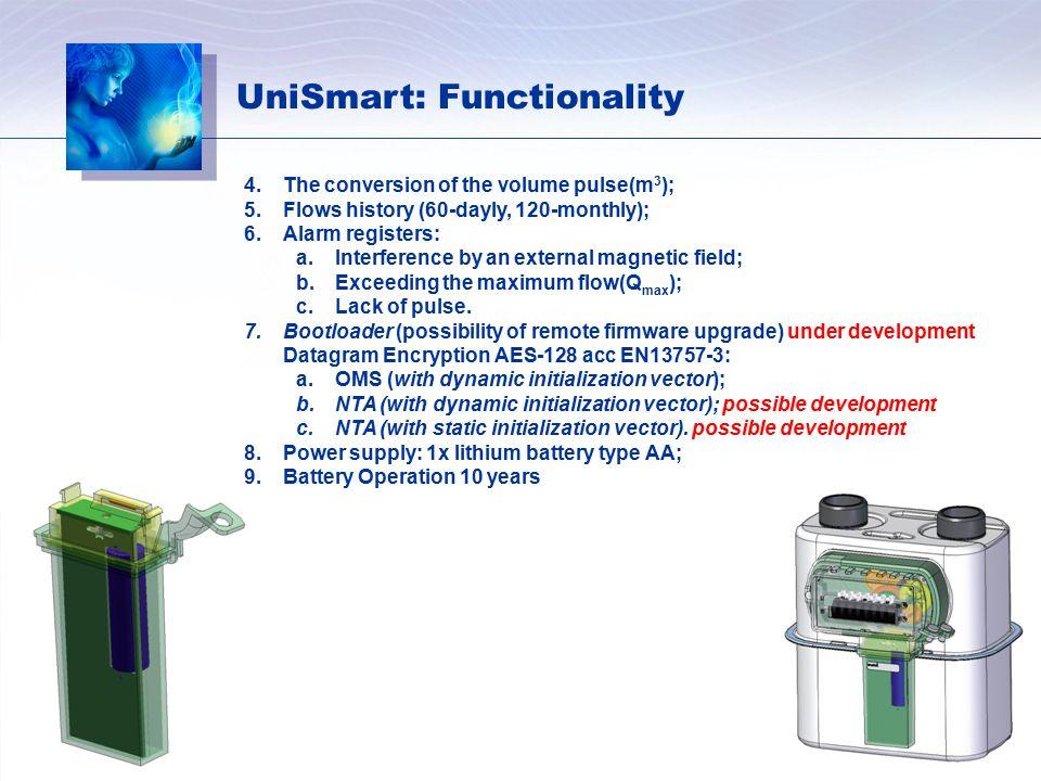 UniSmart: Functionality