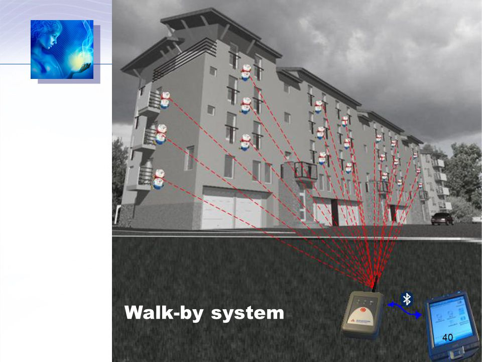 Walk-by system