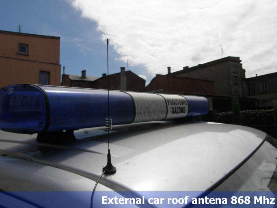 External car roof antena 868 Mhz