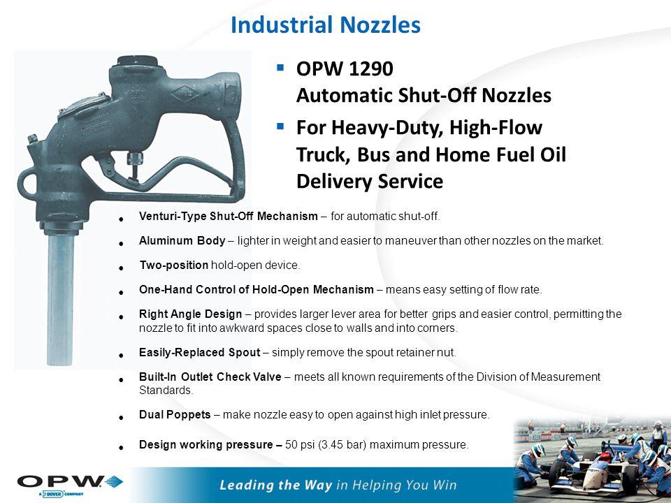 OPW 295SC High-Flow Nozzles