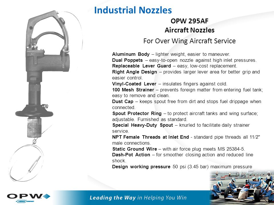 OPW RF-400 Manual Utility Farm Nozzle