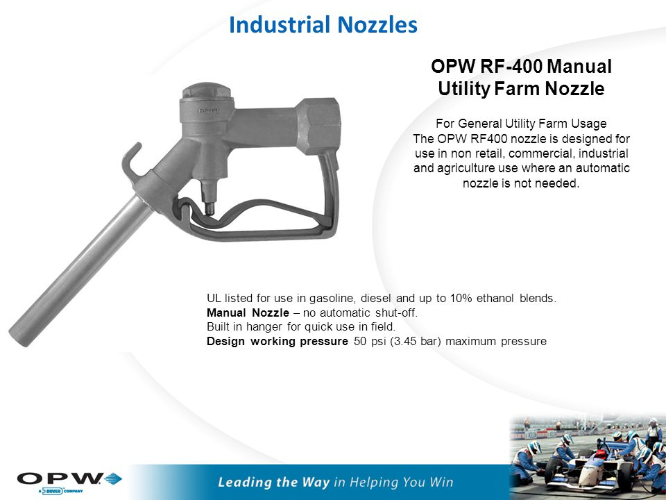 Industrial Nozzle Accessories
