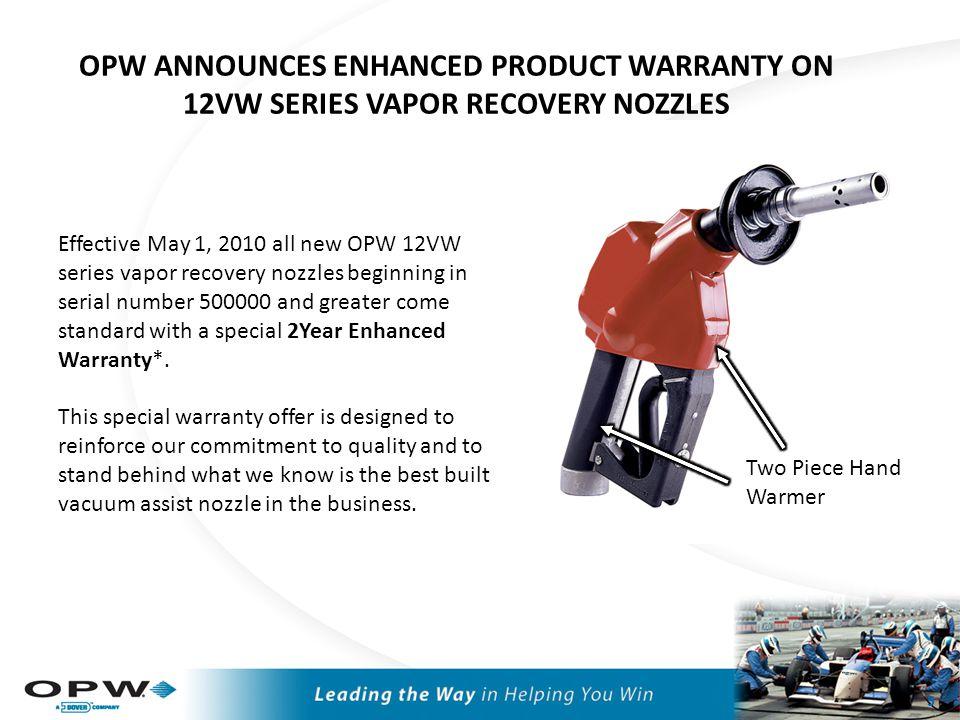Vapor Recovery – Vacuum-Assist Nozzles