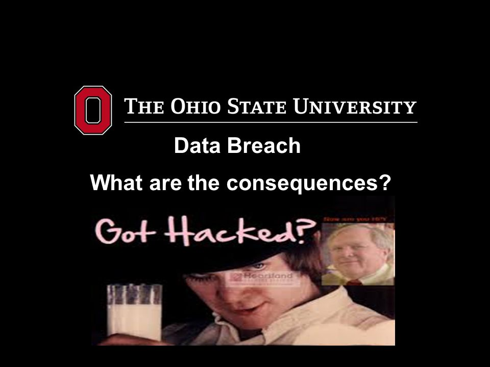 Data Breach What are the consequences