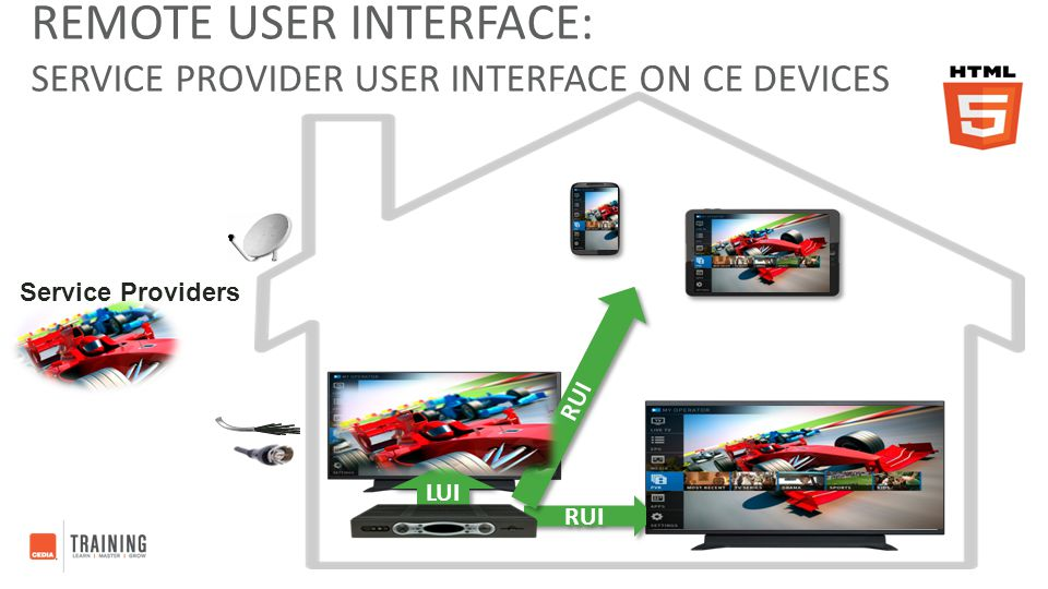 Remote User Interface: Service Provider User Interface on CE Devices
