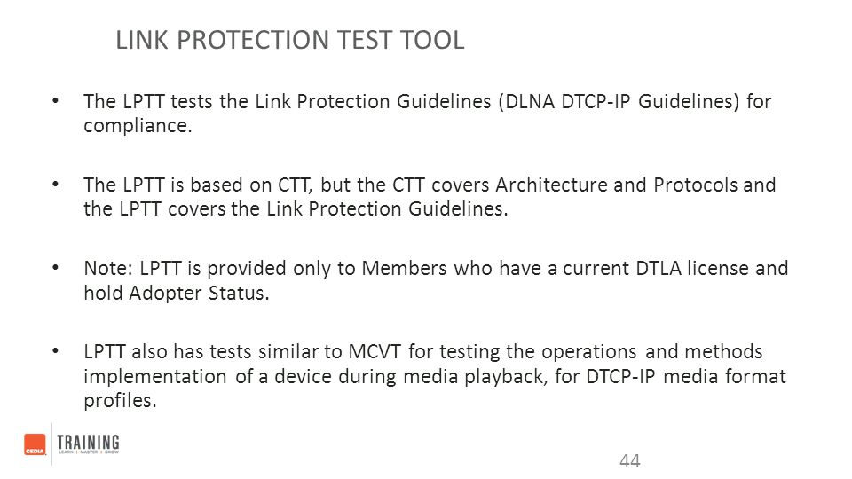 Link Protection Test Tool