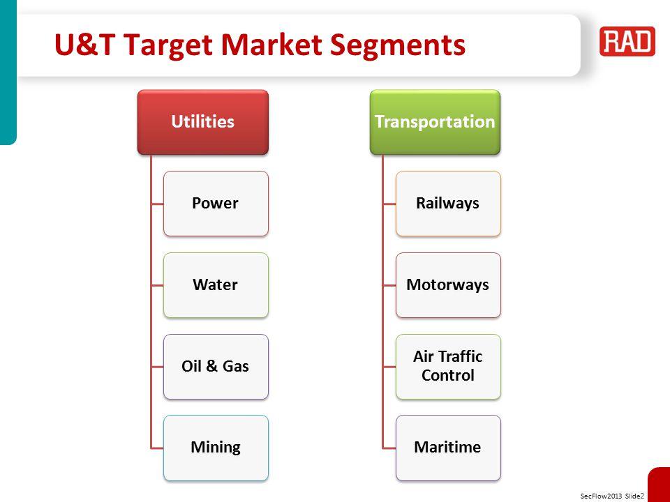 U&T Target Market Segments