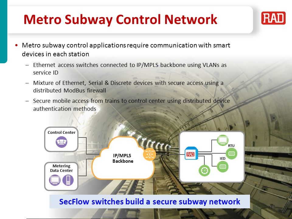 Metro Subway Control Network