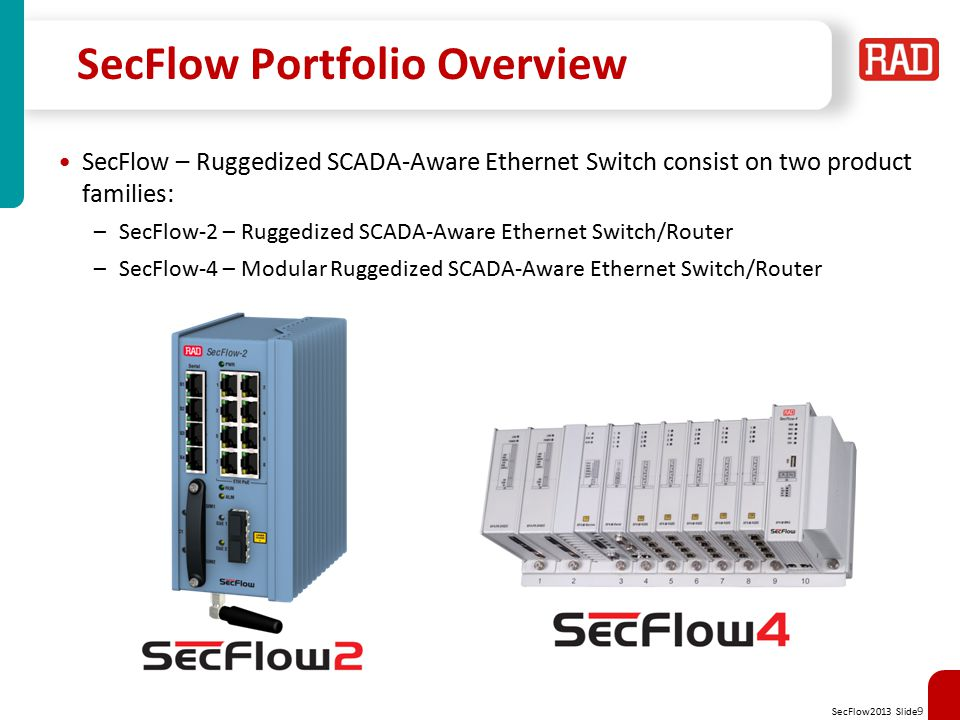 SecFlow Portfolio Overview