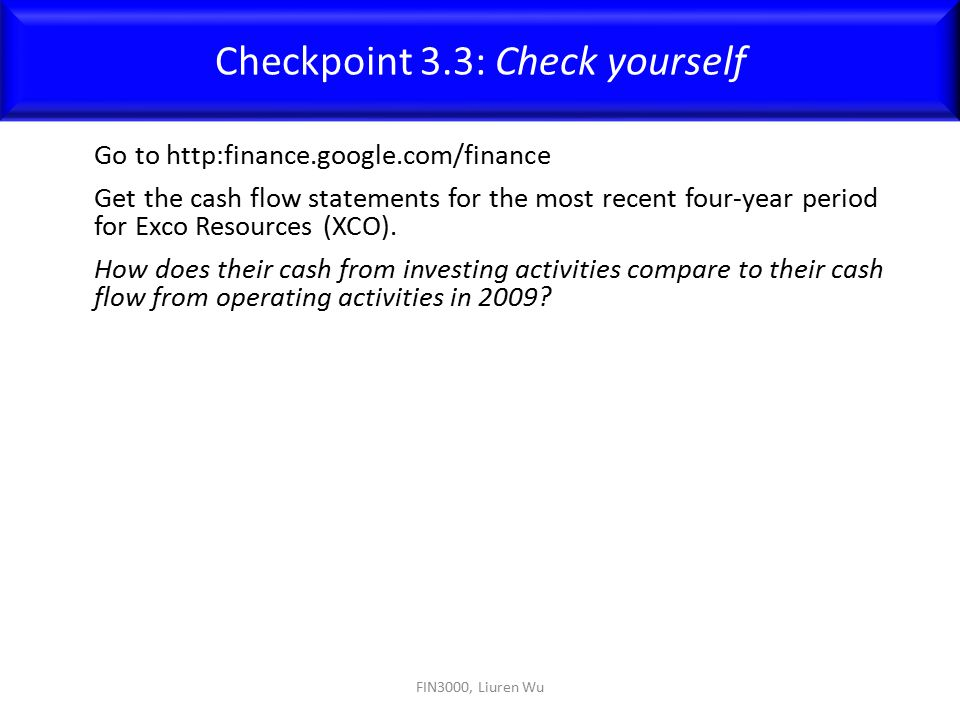 Checkpoint 3.3: Check yourself