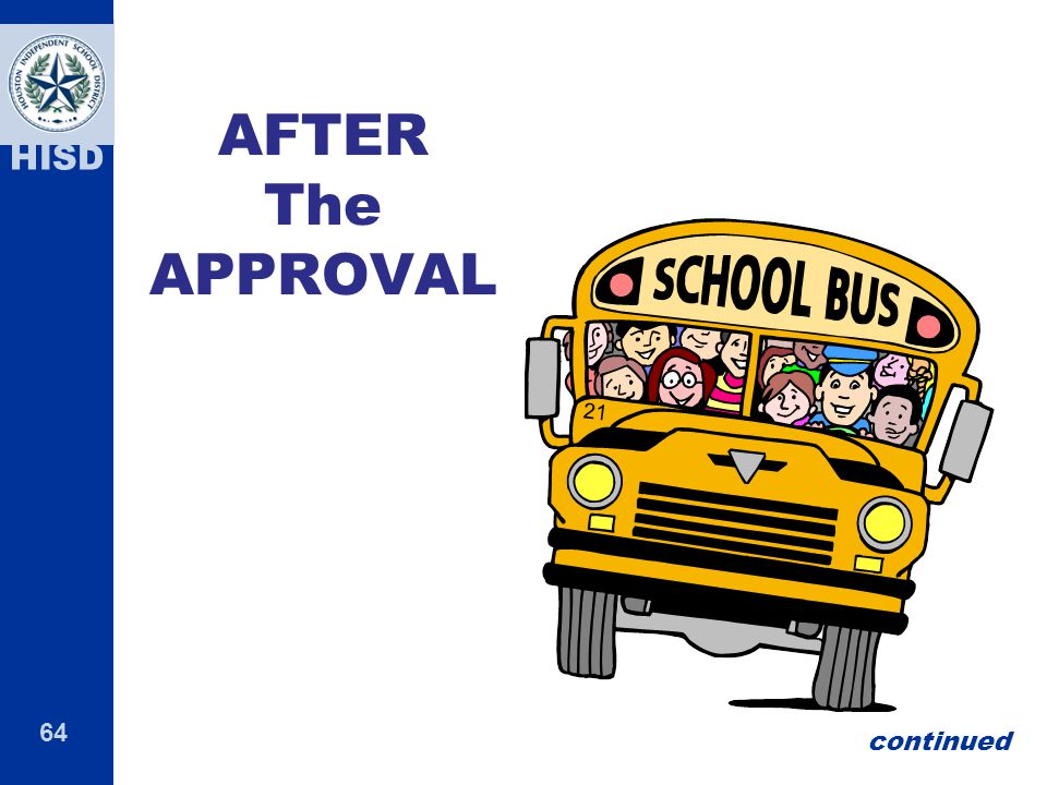 APPROVAL the After AFTER The APPROVAL continued 64