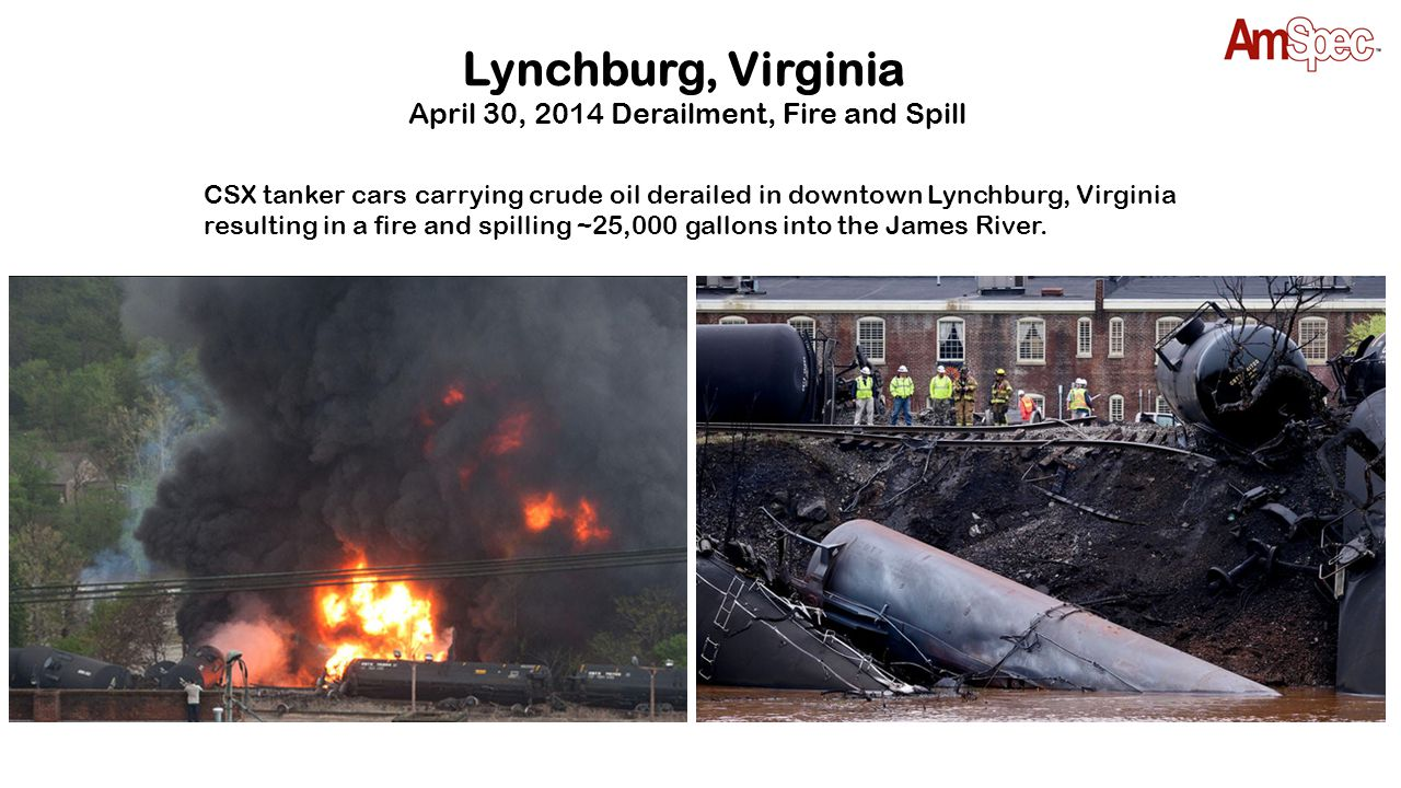 April 30, 2014 Derailment, Fire and Spill