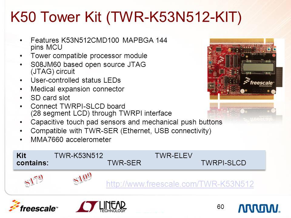 K50 Tower Kit (TWR-K53N512-KIT)