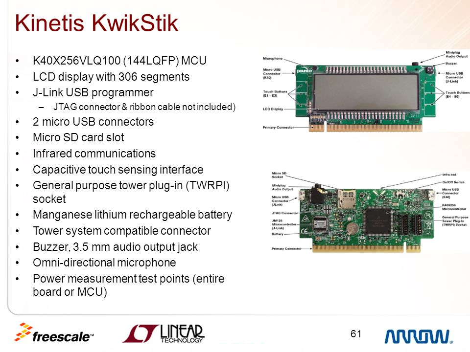 Kinetis KwikStik K40X256VLQ100 (144LQFP) MCU