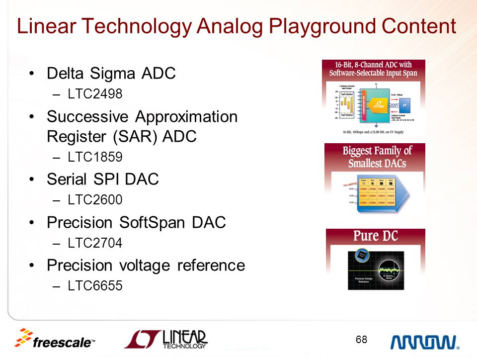 Linear Technology Analog Playground Content