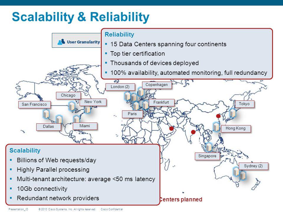 Scalability & Reliability