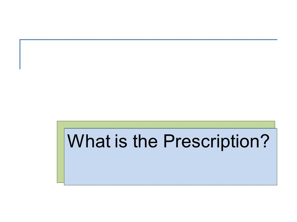 What is the Prescription