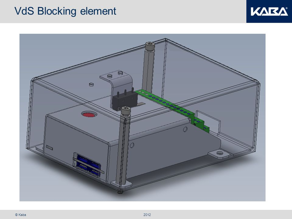 VdS Blocking element 2012