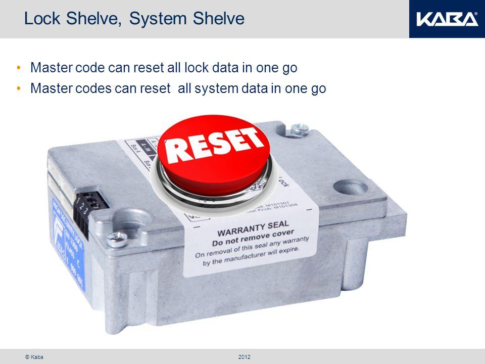 Lock Shelve, System Shelve