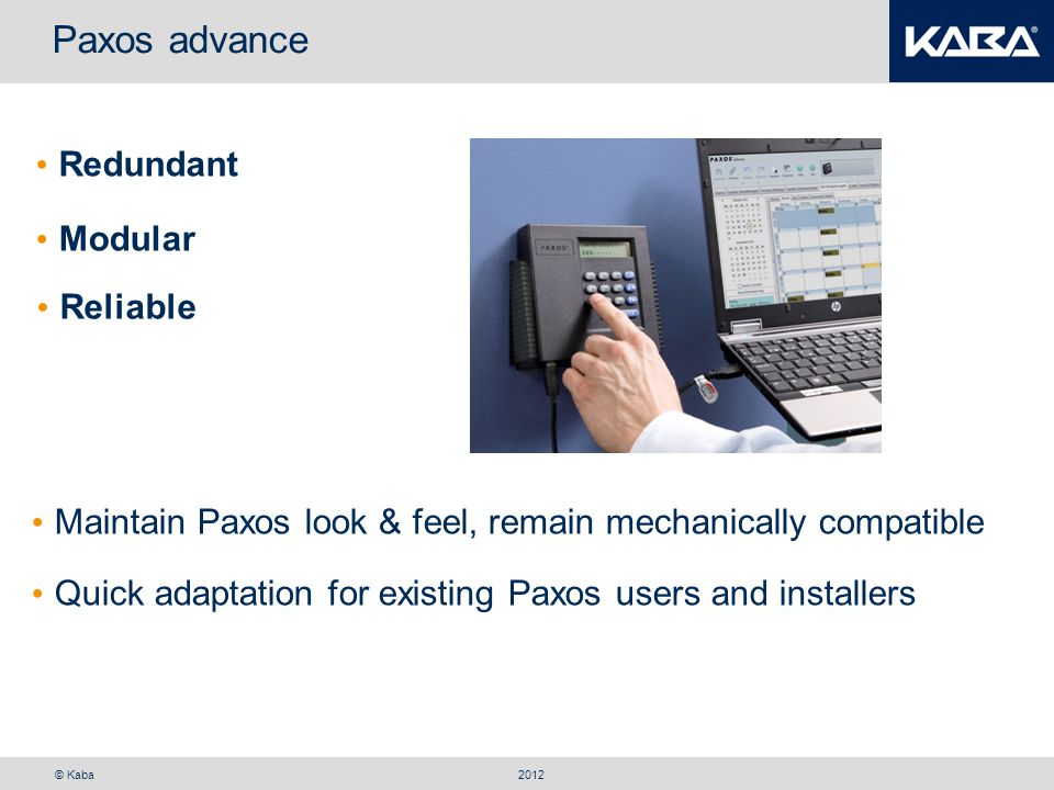 Paxos advance Redundant Modular Reliable