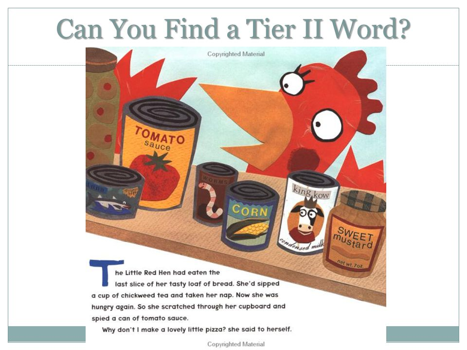 Can You Find a Tier II Word