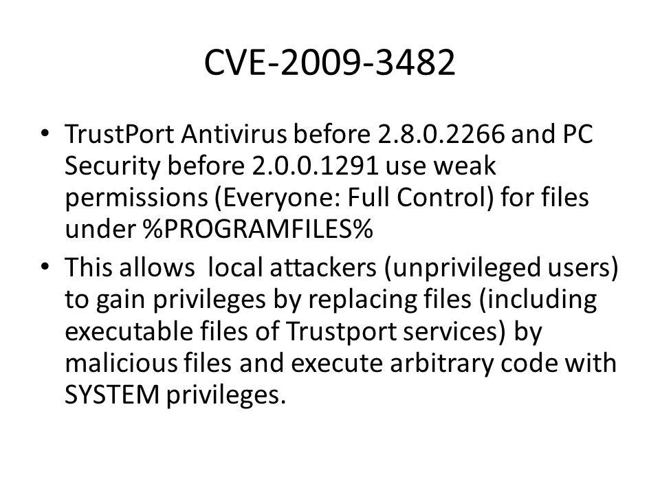 CVE-2009-3482