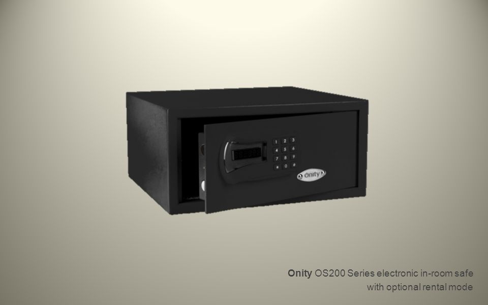 Onity OS200 Series electronic in-room safe