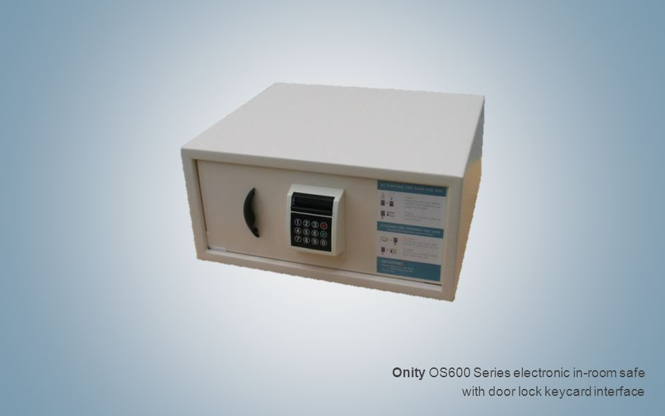 Onity OS600 Series electronic in-room safe