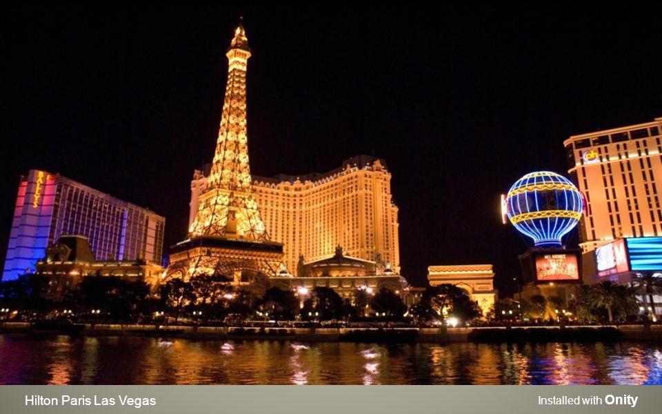 Hilton Paris Las Vegas Installed with Onity